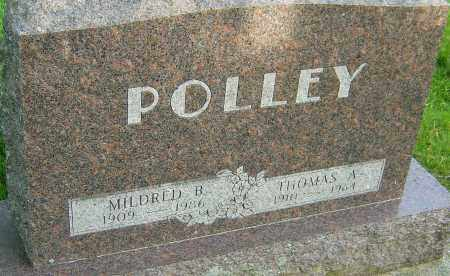 POLLEY, MILDRED B - Montgomery County, Ohio | MILDRED B POLLEY - Ohio Gravestone Photos