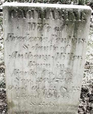 PONTIUS, CATHARINE - Montgomery County, Ohio | CATHARINE PONTIUS - Ohio Gravestone Photos
