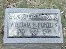PONTIUS, WILLIAM - Montgomery County, Ohio | WILLIAM PONTIUS - Ohio Gravestone Photos
