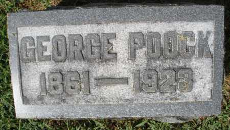 POOCK, GEORGE - Montgomery County, Ohio | GEORGE POOCK - Ohio Gravestone Photos