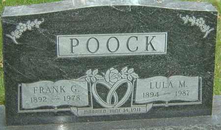 POOCK, FRANK G - Montgomery County, Ohio | FRANK G POOCK - Ohio Gravestone Photos