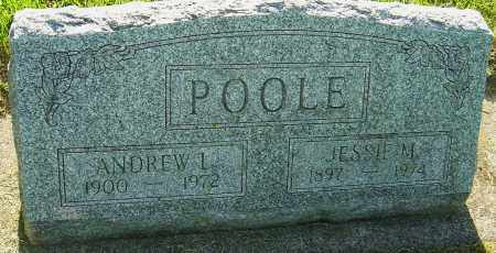 POOLE, ANDREW L - Montgomery County, Ohio | ANDREW L POOLE - Ohio Gravestone Photos