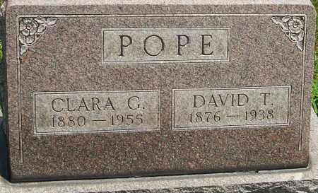 POPE, CLARA G - Montgomery County, Ohio | CLARA G POPE - Ohio Gravestone Photos