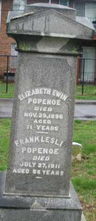 POPENOE, ELIZABETH - Montgomery County, Ohio | ELIZABETH POPENOE - Ohio Gravestone Photos