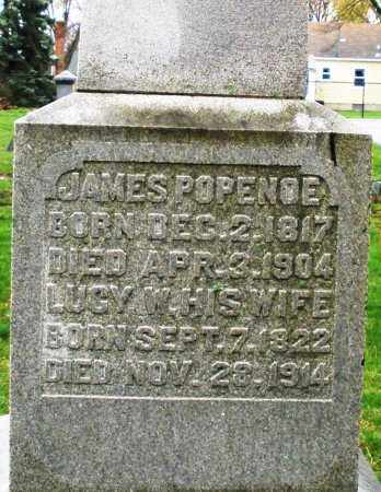 POPENOE, JAMES - Montgomery County, Ohio | JAMES POPENOE - Ohio Gravestone Photos