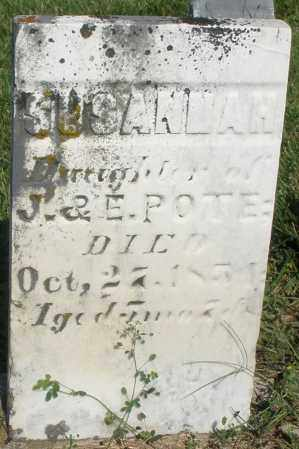 POTE, SUSANNAH - Montgomery County, Ohio | SUSANNAH POTE - Ohio Gravestone Photos