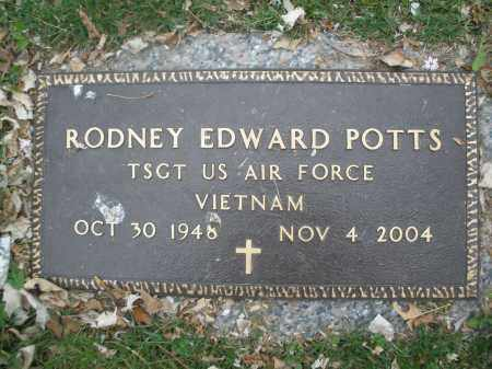 POTTS, RODNEY EDWARD - Montgomery County, Ohio | RODNEY EDWARD POTTS - Ohio Gravestone Photos