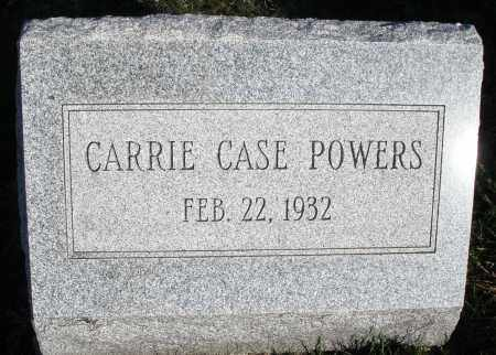 POWERS, CARRIE - Montgomery County, Ohio | CARRIE POWERS - Ohio Gravestone Photos