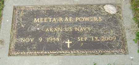 POWERS, MEETA RAE - Montgomery County, Ohio | MEETA RAE POWERS - Ohio Gravestone Photos