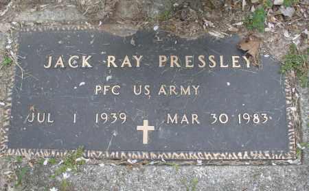 PRESSLEY, JACK RAY - Montgomery County, Ohio | JACK RAY PRESSLEY - Ohio Gravestone Photos