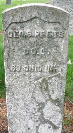 PRETS, GEORGE S. - Montgomery County, Ohio | GEORGE S. PRETS - Ohio Gravestone Photos
