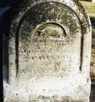 PRISER, SARAH C. - Montgomery County, Ohio | SARAH C. PRISER - Ohio Gravestone Photos
