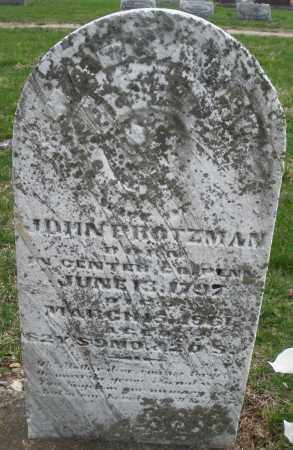 PROTZMAN, W/O JOHN - Montgomery County, Ohio | W/O JOHN PROTZMAN - Ohio Gravestone Photos