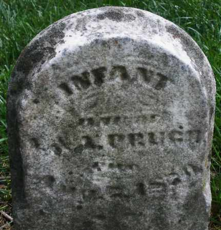 PRUGH, INFANT - Montgomery County, Ohio | INFANT PRUGH - Ohio Gravestone Photos