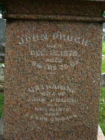 PRUGH, JOHN - Montgomery County, Ohio | JOHN PRUGH - Ohio Gravestone Photos