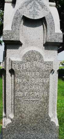 PRUGH, PETER - Montgomery County, Ohio | PETER PRUGH - Ohio Gravestone Photos