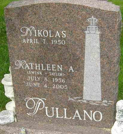 PULLANO, KATHLEEN A - Montgomery County, Ohio | KATHLEEN A PULLANO - Ohio Gravestone Photos
