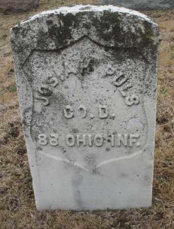 PULS, JOSIAH - Montgomery County, Ohio | JOSIAH PULS - Ohio Gravestone Photos