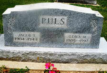 PULS, JACOB T. - Montgomery County, Ohio | JACOB T. PULS - Ohio Gravestone Photos