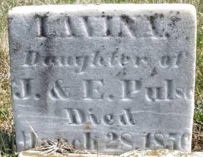 PULS, LAVINA - Montgomery County, Ohio | LAVINA PULS - Ohio Gravestone Photos