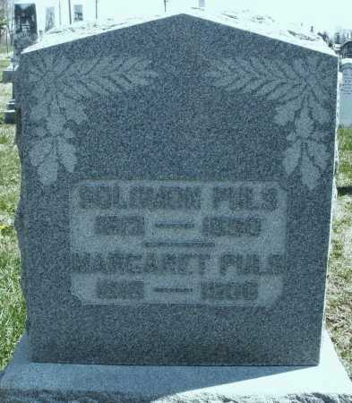 PULS, SOLOMON - Montgomery County, Ohio | SOLOMON PULS - Ohio Gravestone Photos