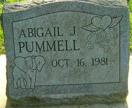 PUMMELL, ABIGAIL J - Montgomery County, Ohio | ABIGAIL J PUMMELL - Ohio Gravestone Photos
