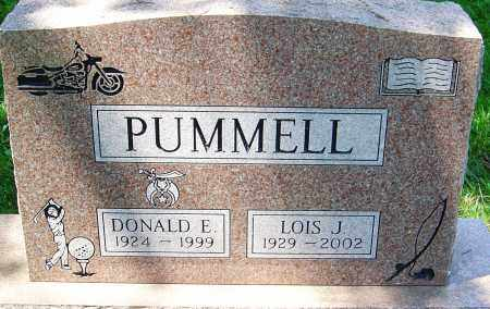 PUMMELL, DONALD E - Montgomery County, Ohio | DONALD E PUMMELL - Ohio Gravestone Photos