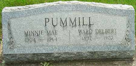 BOOHER PUMMILL, MINNIE MAE - Montgomery County, Ohio | MINNIE MAE BOOHER PUMMILL - Ohio Gravestone Photos