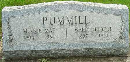 PUMMILL, WARD DELBERT - Montgomery County, Ohio | WARD DELBERT PUMMILL - Ohio Gravestone Photos