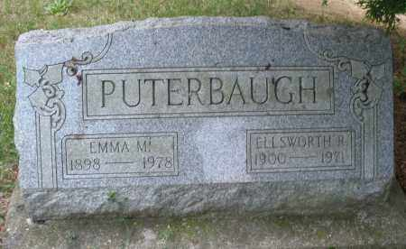 PUTERBAUGH, ELLSWORTH R. - Montgomery County, Ohio | ELLSWORTH R. PUTERBAUGH - Ohio Gravestone Photos