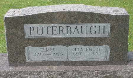 PUTERBAUGH, ELMER - Montgomery County, Ohio | ELMER PUTERBAUGH - Ohio Gravestone Photos
