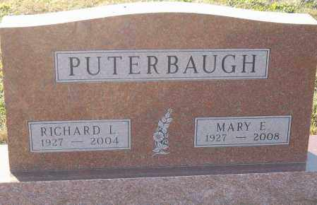 PUTERBAUGH, RICHARD L - Montgomery County, Ohio | RICHARD L PUTERBAUGH - Ohio Gravestone Photos