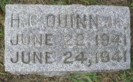 QUINN, H.C. JR. INFANT - Montgomery County, Ohio | H.C. JR. INFANT QUINN - Ohio Gravestone Photos