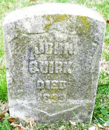 QUIRK, JOHN - Montgomery County, Ohio | JOHN QUIRK - Ohio Gravestone Photos