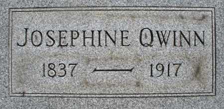 QWINN, JOSEPHINE - Montgomery County, Ohio | JOSEPHINE QWINN - Ohio Gravestone Photos