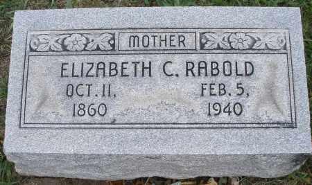 RABOLD, ELIZABETH C. - Montgomery County, Ohio | ELIZABETH C. RABOLD - Ohio Gravestone Photos