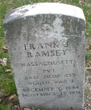 RAMSEY, FRANK J. - Montgomery County, Ohio | FRANK J. RAMSEY - Ohio Gravestone Photos