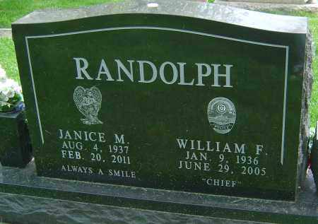 RANDOLPH, WILLIAM F - Montgomery County, Ohio | WILLIAM F RANDOLPH - Ohio Gravestone Photos