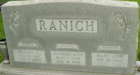 RANICH, SHARON ANN - Montgomery County, Ohio | SHARON ANN RANICH - Ohio Gravestone Photos