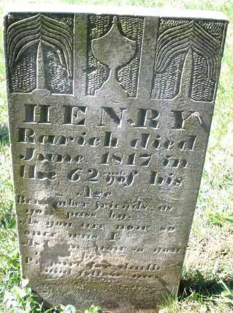 RARICK, HENRY - Montgomery County, Ohio | HENRY RARICK - Ohio Gravestone Photos