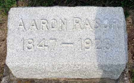 RASOR, AARON - Montgomery County, Ohio | AARON RASOR - Ohio Gravestone Photos
