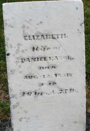 RASOR, ELIZABETH - Montgomery County, Ohio | ELIZABETH RASOR - Ohio Gravestone Photos