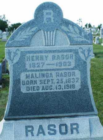 RASOR, MALINDA - Montgomery County, Ohio | MALINDA RASOR - Ohio Gravestone Photos
