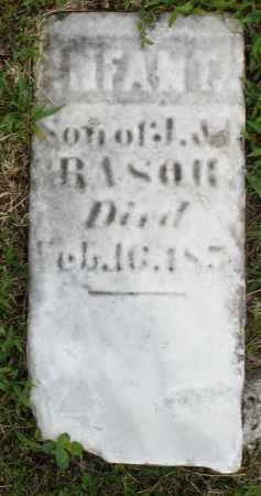 RASOR, INFANT SON - Montgomery County, Ohio | INFANT SON RASOR - Ohio Gravestone Photos