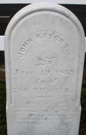 RASOR, JOHN SR. - Montgomery County, Ohio | JOHN SR. RASOR - Ohio Gravestone Photos