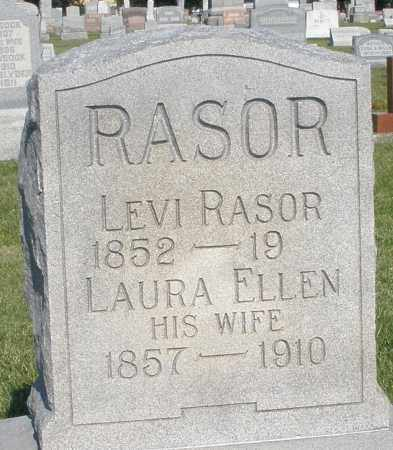 RASOR, LAURA ELLEN - Montgomery County, Ohio | LAURA ELLEN RASOR - Ohio Gravestone Photos