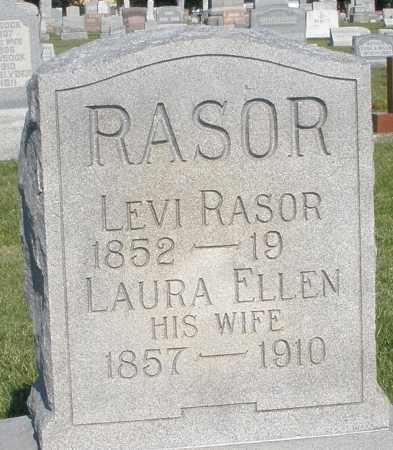 RASOR, LEVI - Montgomery County, Ohio | LEVI RASOR - Ohio Gravestone Photos