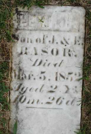 RASOR, LEVI H. - Montgomery County, Ohio | LEVI H. RASOR - Ohio Gravestone Photos