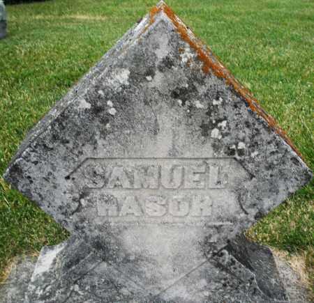 RASOR, SAMUEL - Montgomery County, Ohio | SAMUEL RASOR - Ohio Gravestone Photos