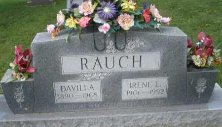 RAUCH, DAVILLA - Montgomery County, Ohio | DAVILLA RAUCH - Ohio Gravestone Photos